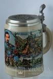 Коллекционная пивная кружка Dein  Зап.Германия, фото №2