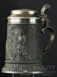 Уникальная  пивная кружка Рыцарь Олень Цапля, фото №2