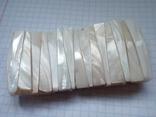 Браслет из перламутра  №5 56 грамм, фото №2
