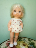 Кукола ссср.ранняя паричковая в фабричной одежде, фото №4