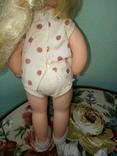 Кукола ссср.ранняя паричковая в фабричной одежде, фото №5