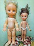 Пара ранних кукол ссср с вставными глазами, фото №3