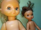 Пара ранних кукол ссср с вставными глазами, фото №2