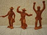 Ковбои оранжевые резина мягкие гнущиеся, фото №2