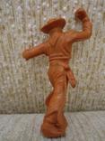 Ковбои оранжевые резина мягкие гнущиеся, фото №5
