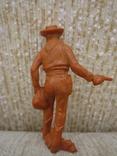 Ковбои оранжевые резина мягкие гнущиеся, фото №7