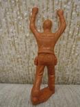 Ковбои оранжевые резина мягкие гнущиеся, фото №11