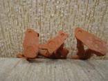 Ковбои оранжевые резина мягкие гнущиеся, фото №12