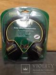 Оригинальные наушники Garrett ClearSound Easy Stow Headphones с регулятором громкости photo 3