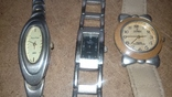 Часы женские кварцевые 3 штуки., фото №3