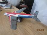 Самолет винтаж игрушка жесть  cccp, фото №3