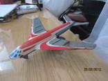 Самолет винтаж игрушка жесть  cccp, фото №4