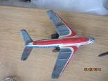 Самолет винтаж игрушка жесть  cccp, фото №5