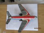 Самолет винтаж игрушка жесть  cccp, фото №7