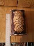 Шкатулка дерево сувенир, фото №2