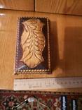 Шкатулка дерево сувенир, фото №3