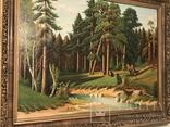 Картина Маслом.Большая. 50-х.годов. photo 4