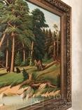 Картина Маслом.Большая. 50-х.годов. photo 5