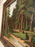 Картина Маслом.Большая. 50-х.годов. photo 6