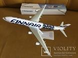 Модель самолёта Finnair A340, 1:250 photo 1