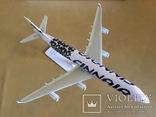 Модель самолёта Finnair A340, 1:250 photo 3