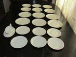 Антикварный сервиз тарелки блюда соусник фарфор Winterling in Röslau 1907-1950 Германия photo 3