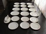 Антикварный сервиз тарелки блюда соусник фарфор Winterling in Röslau 1907-1950 Германия photo 4