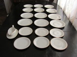 Антикварный сервиз тарелки блюда соусник фарфор Winterling in Röslau 1907-1950 Германия, фото №5