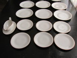 Антикварный сервиз тарелки блюда соусник фарфор Winterling in Röslau 1907-1950 Германия photo 5