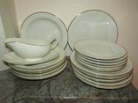 Антикварный сервиз тарелки блюда соусник фарфор Winterling in Röslau 1907-1950 Германия photo 9