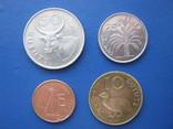 5 ,10 , 25 , 50 бутутов Гамбии 1998 г., фото №2