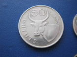 5 ,10 , 25 , 50 бутутов Гамбии 1998 г., фото №4