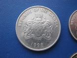5 ,10 , 25 , 50 бутутов Гамбии 1998 г., фото №9