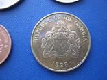 5 ,10 , 25 , 50 бутутов Гамбии 1998 г., фото №11