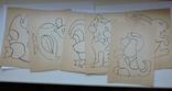 Аппликация самоделка из бархатных бумаг 1975г., фото №5