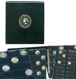 Альбом для монет SAFE Premium. Черный фото 2