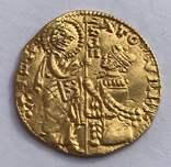 Дукат 1350-1439гг. Ватикан. Римский сенат
