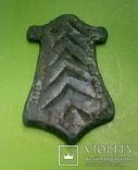 Привеска трапецевидная . Княжеский знак .Киевская Русь. photo 5
