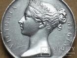 Великобритания.Медаль за Крымскую войну.1854г.Серебро.Оригинал., фото 1