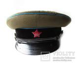 Суконная фуражка ВОСО служба военных сообщений клеймо красный воин 1958 год photo 3