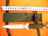 Нож метательный А2 с ножнами, фото №3
