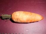 Елочная игрушка Морковка, фото №2