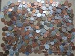 Монеты только иностранные от старинных до современных 428 шт
