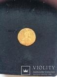 Рубль 1756. Золото.