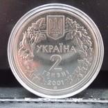 Лиственница польская 2 грн. 2001 год Модрина Польська photo 2