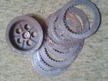 Металеві диски муфти зчеплення ИЖ-49, ИЖ-56, оригінал., фото №3