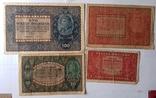 1 10 20 100 марок (марек) польських 1919 року