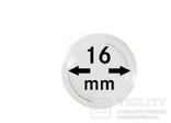 Монетные капсулы с внутренним диаметром 16 мм, в комплекте 10 штук. 2250016P.