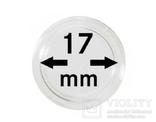 Монетные капсулы с внутренним диаметром 17 мм, в комплекте 10 штук. 2250017P.