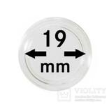 Монетные капсулы с внутренним диаметром 19 мм, в комплекте 10 штук. 2250019P